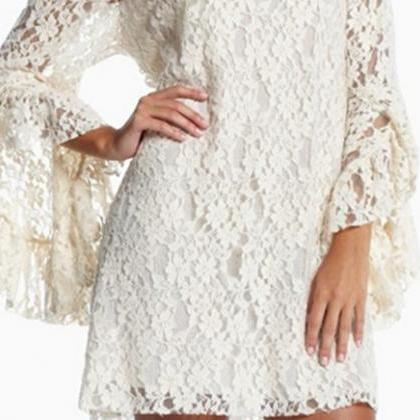 Retro white floral lace dress on luulla retro white floral lace dress mightylinksfo